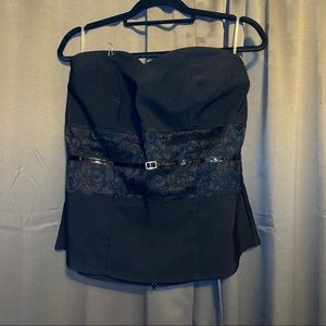 2/$20 - Torrid Belted Lace Tube Top